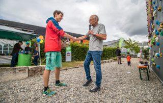 Verabschiedung unseres BFDlers Jakob. Foto: Torsten Hans.