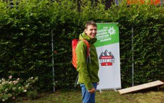 Bergsporttombola: Ein Wanderrucksack. Foto: Jakob Stegmaier.