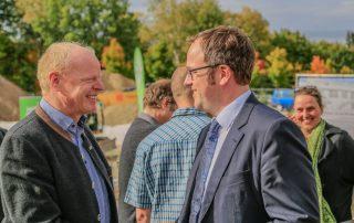 DAV-Vorsitzender Kai Lenfert und OB Dr. Florian Janik (Foto: L. Kügel).